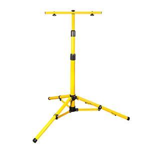 Tripod Stand: Yellow Weatherproof Compact. Brand New Product.