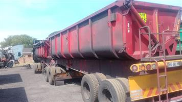 Big stock clearance on side tipper trailers!!