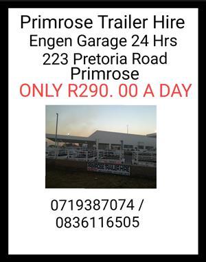 Trailer hire Primrose - Engen Garage