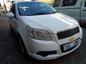 2009 Chevrolet Aveo 1.6 L hatch