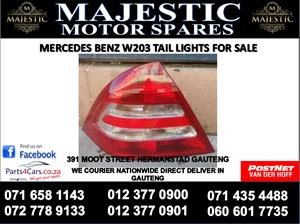 Mercedes benz w203 tail lights for sale