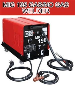 MIG 195 MIG Welder (GAS/NO GAS)