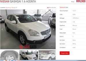 2009 Nissan Qashqai 1.6 Acenta