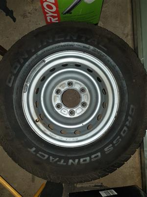 Spare wheel mazda or ford ranger