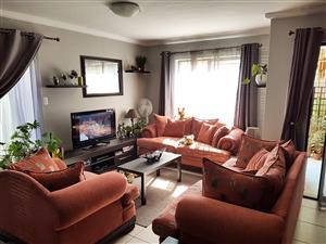 Three piece couch set