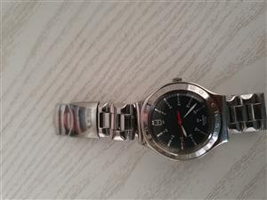 SWATCH IRONY HARDLY USED WITH ORIGINAL CASE R1200 ONCO
