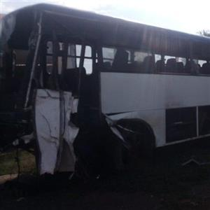 Mercedes accident damaged bus for sale