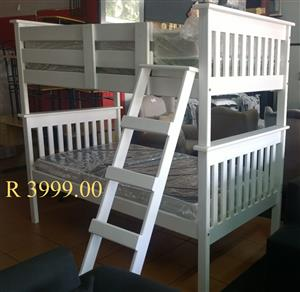 Bunk Beds Hard Wooden