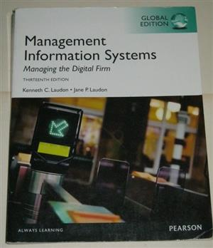 Management information systems 5th ed