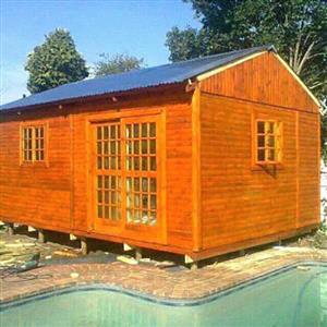6m x 8m Log Home