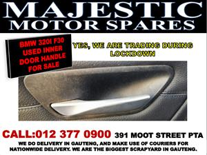 Bmw 320i F30 used inner door handle for sale