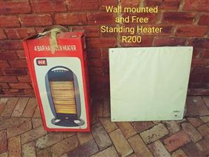 Wall mount and standing heater