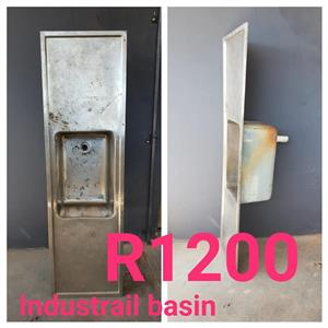 INDUSTRIAL BASIN FOR SALE