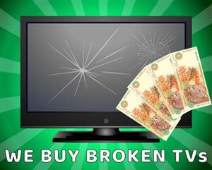 Buying your broken TV