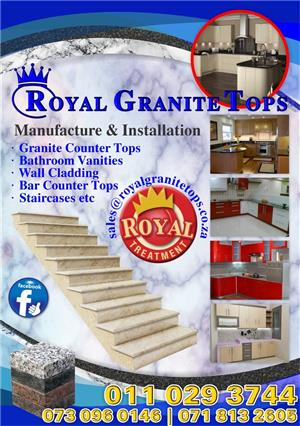 Granite supplies and installations