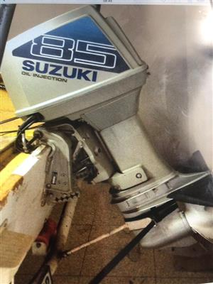 Suzuki 85hp boat motor