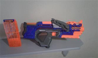 Nerf elite blue and orange Crossbolt