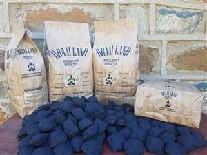 Charcoal briquettes & Lump Charcoal