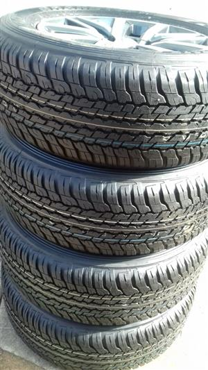"""18"""" Toyota Fortuner Rims and Dunlop tyres"""