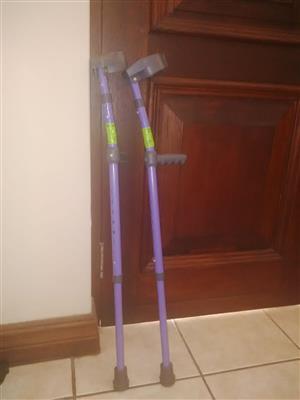Crutches for children