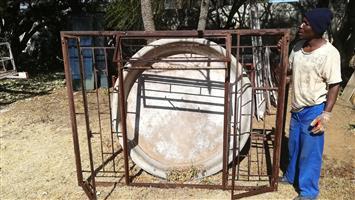 12 x Large Steel Window frames for sale