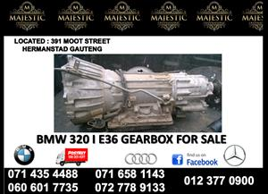 Bmw e36 320i gearbox for sale