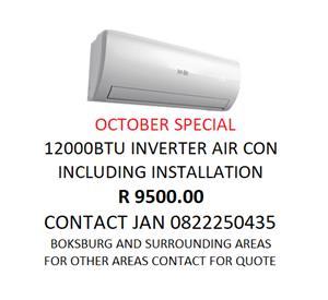 AIR CON SPECIAL OCTOBER
