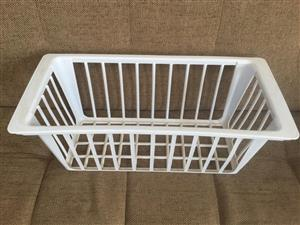 Plastic baskets - for fridge or general storage usage = price is for the set of 2 baskets