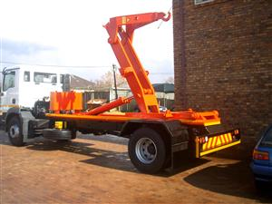 We supply waste removal trucks and equipment.