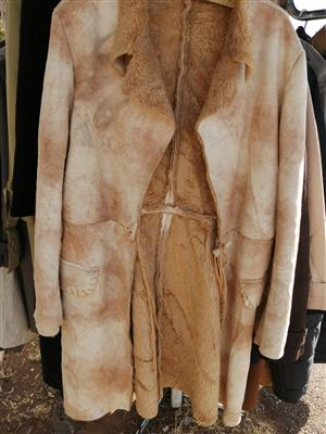 Winter clothes and leather jacket for sale