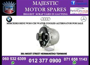 Mercedes benz w203 cdi water coolant alternator for sale