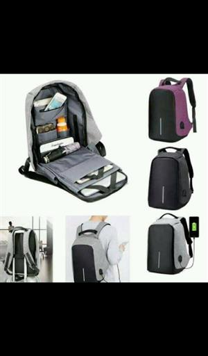 Anti theft laptop bags