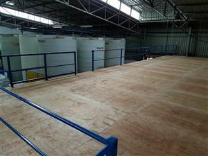 New Mezzanine Floor