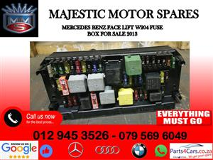Mercedes benz W204 fuse box for sale