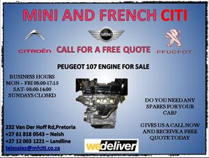 107 engine for sale