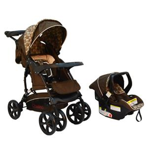 Coyote Travel System – Honeycomb / Brown Circles