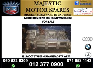 Mercedes benz 271 CGI oil pump for sale
