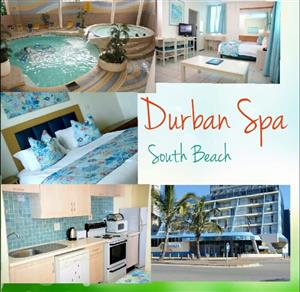 Durban Spa Breakaway special R4500  per week from 20 March -4 April incl  secure parking