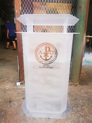 Pulpits and Podiums