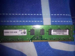 DDR3 4gig ram