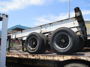Double Axle Container Trailer