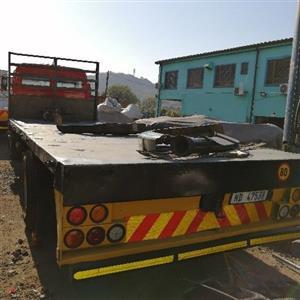 75 meters flat deck truck body
