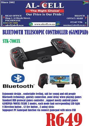 Bluetooth Telescopic Controller Gamepad STK-7003X