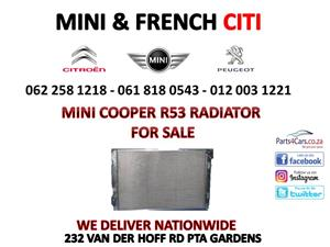Mini R53 Radiator  for sale