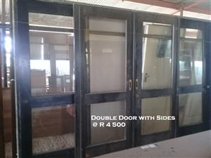 Used Double Door with Sides