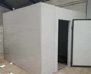 New Freezer Rooms:150mm 2.4m x 2.4m x 2.4m