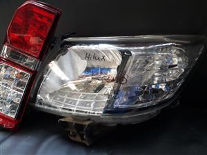 Toyota Hilux Legend 45 Headlight & Tail lights