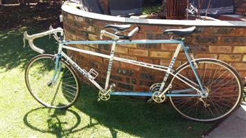 21 Speed HANSOM tandem bicycle for sale