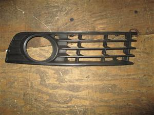 AUDI A4 B6 FOG LIGHT GRILL