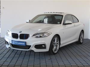 2014 BMW 2 Series coupe 220d M SPORT A/T(F22)